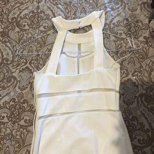 Guess white dress